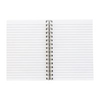Bark And Rock Notebook Refill Lined Pages White