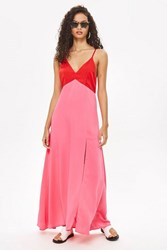 Wyldr Up All Night Two Toned Maxi Dress By Multi