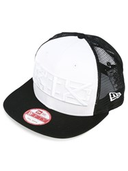 Ktz Embroidered Hat Men Cotton Polyester One Size Black