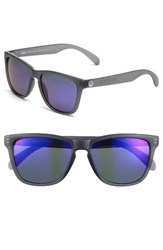 Sunski Men's Headland 53M Polarized Sunglasses Black Blue Black Blue