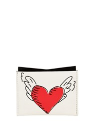 Roger Vivier Coeur Tattoo Leather Card Holder