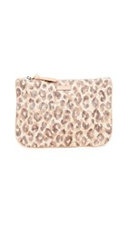 Zimmermann Leather And Canvas Pouch Leopard