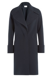 Carven Tailored Coat Blue