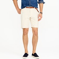 J.Crew 9' Stanton Short In Seeded Canvas