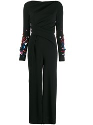 Talbot Runhof River Draped Jumpsuit 60