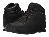 The North Face Back To Berkeley Redux Leather Tnf Black Tnf Black Tnf Black Men's Hiking Boots