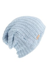Women's Free People 'Capsule' Slouchy Knit Beanie Blue Ice Blue