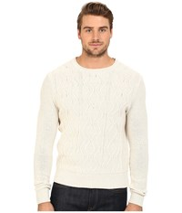 7 Diamonds Nomad Sweater Ecru Men's Sweater Khaki