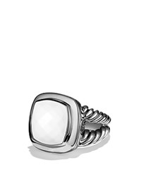 David Yurman Albion Ring With White Agate