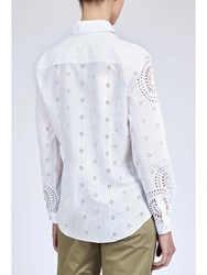 Alexis Mabille Embroidered Shirt White