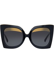 N 21 No21 Linda Farrow Sunglasses Black