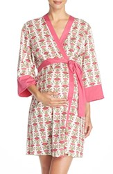 Women's Belabumbum 'Padma' Cotton Maternity Robe