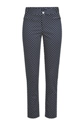 Steffen Schraut High Waisted Polka Dot Pants