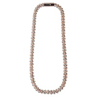 Adele Marie Magnetic Catch Chain Necklace Rose Gold