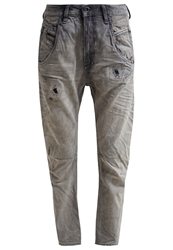 Diesel Fayza Relaxed Fit Jeans Grau Grey Denim