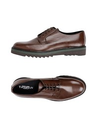 Thompson Lace Up Shoes Brown