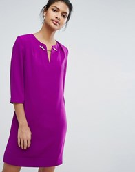 Ted Baker Tunic With Chain Detail Dp Purple