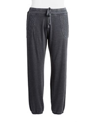 Marc New York Quilted Pocket Sweatpants Smoke