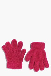 Boohoo Thermal Snow Soft Magic Gloves Pink