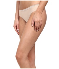 Ongossamer Beautifully Basic Clean Cut Thong Champagne Women's Underwear Gold