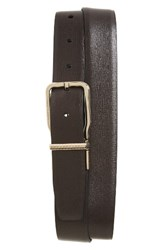 Ermenegildo Zegna Men's Sartoria Reversible Leather Belt