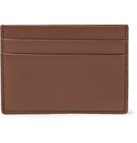 Common Projects Leather Cardholder Brown