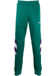 Fila Logo Detail Track Pants Green