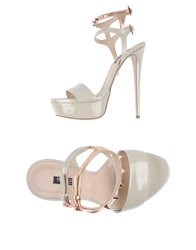Ruthie Davis Sandals Light Grey