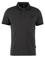 Just Cavalli Polo Shirt Gargoyle Melange Grey