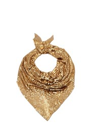 Paco Rabanne Chain Mail Scarf Gold