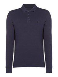Criminal Men's Sb Jules Pique Polo Shirt Dark Navy