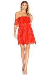 Lovers Friends Dream Vacay Dress Red