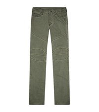 True Religion Rocco Relaxed Biker Front Jeans Male Green