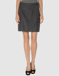 Fabrizio Lenzi Knee Length Skirts Grey