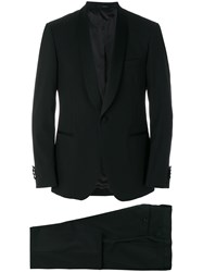 Lardini Shawl Lapel Dinner Suit Black