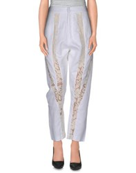 Rebecca Minkoff Trousers Casual Trousers Women Ivory