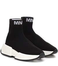 Maison Martin Margiela High Top Sock Sneakers Black