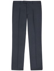 Jaeger Plain Twill Classic Trousers Charcoal