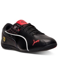 Puma Men's Drift Cat 6 Sf Flash Casual Sneakers From Finish Line Black Rosso Corsa