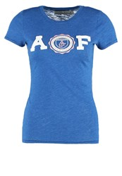 Abercrombie And Fitch Core Print Tshirt True Blue