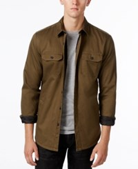 American Rag Men's Lined Shirt Jacket Only At Macy's Greenbrook