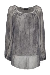 James Lakeland Silk Tunic Grey
