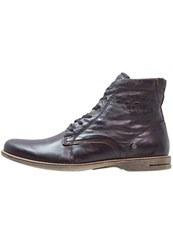 Sneaky Steve Scotter Laceup Boots Brown