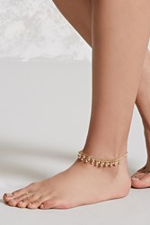 Forever 21 Anklet And Toe Ring Set Gold