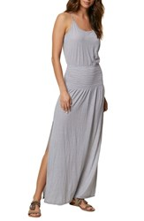 O'neill 'S Gwen Stripe Knit Maxi Dress Flintstone
