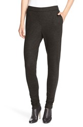 Women's Theory 'Thaniel K' Flannel Leggings Dark Cedar