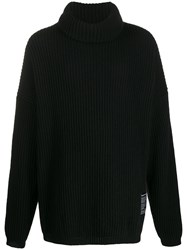 Odeur Oversized Ribbed Knit Sweater 60