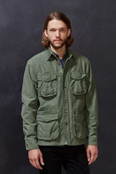 Deus Ex Machina Bravo Military Shirt Jacket Olive