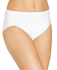 Vanity Fair Cooling Touch High Cut Brief 13124 Star White