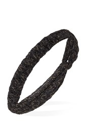 Forever 21 Glimmer Thread Knotted Headwrap